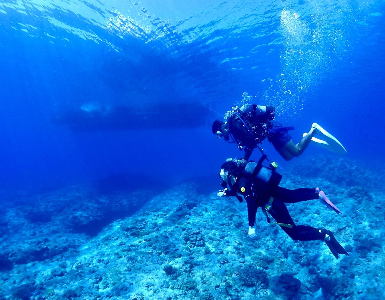 沖縄の美しい海を守るため
