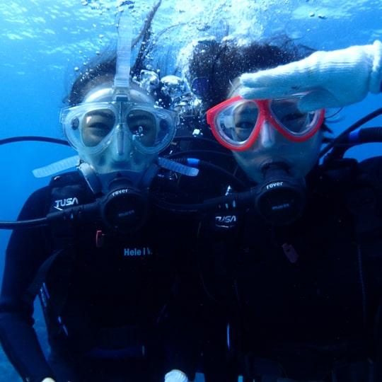 体験ダイビング1ダイブ+慶良間海域 シュノーケリング